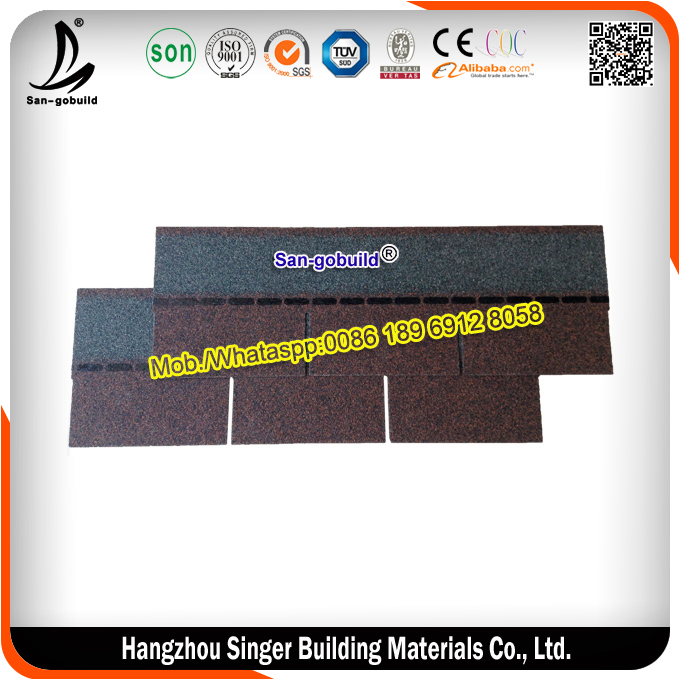 Whole Sale Waterproofing Asphalt Roofing Shingles