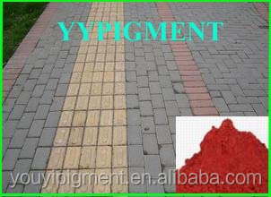 garden brick iron oxide pigment color cement tiles grout