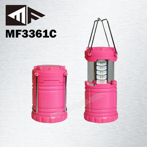 A Hot Selling Auto On Off Switch Small Folding SMD LED Camping Lantern