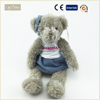 I-Green Toy Series-wearing hat T-shirt Bear custom wholesale soft teddy bear factory china