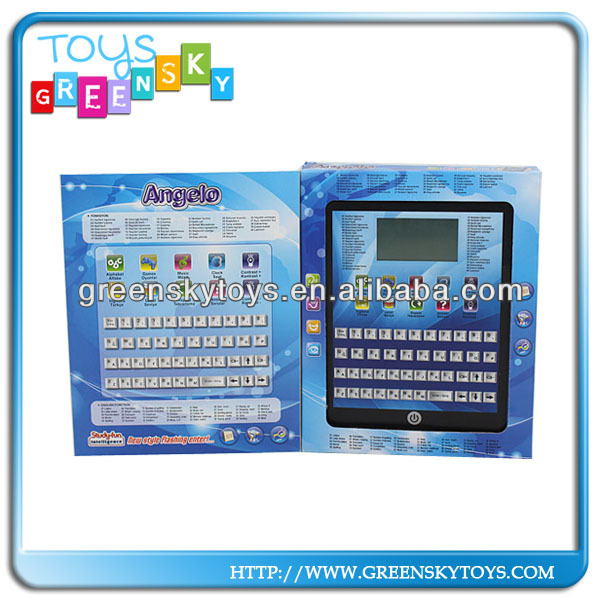 Turkish,English learning machine,learning pad toy for kids