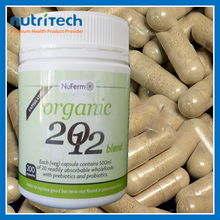 natural organic probiotic for digestive health