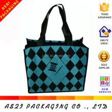 custom silkscreen printing non woven eco friendly reusable mini tote bag wholesale