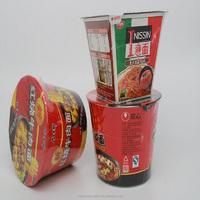 POF bowl noodles shrink film