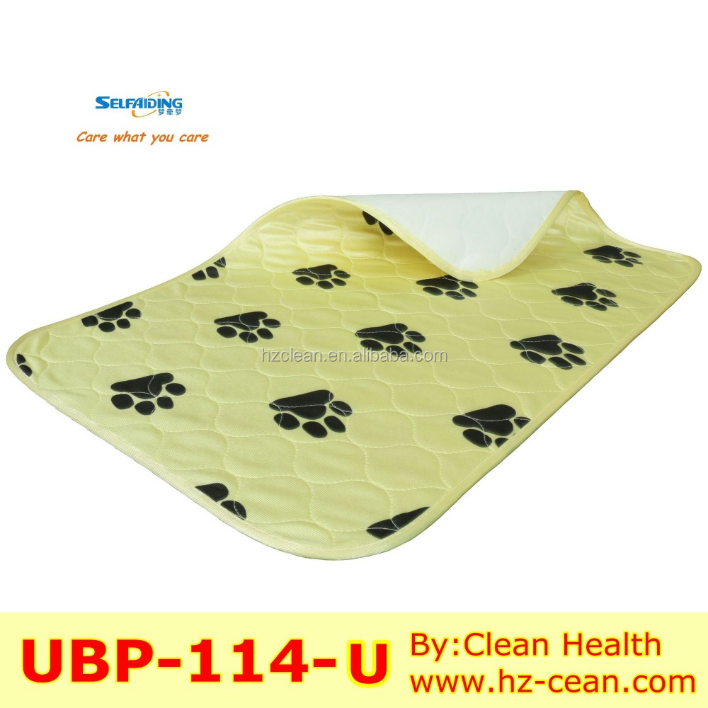 Reusable waterproof pet training pad, dog training pad
