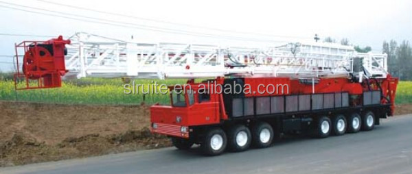 Oil water well workover rig 900 oil well drilling rig for oilfield