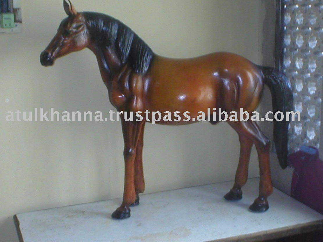 Leather horse, Leather toys , Leather Stuffed Animals