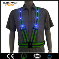 night vision chinese sex H video led reflective belt