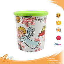 Wholesale cure plastic iml angel wing water mug