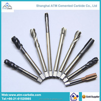 ATM manufacturer Steel Cutting Roughing End Mills/AlTiN Coated Roughing Carbide Endmills