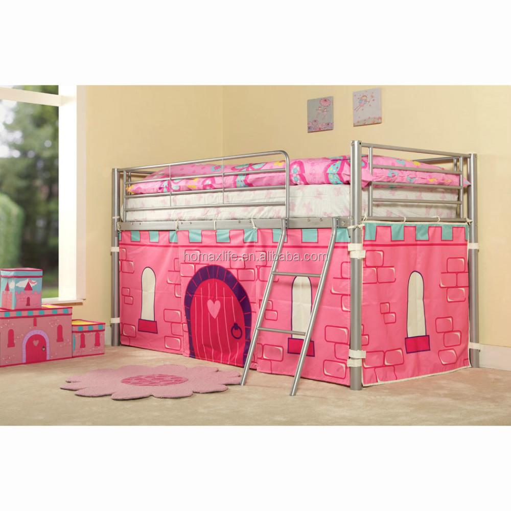 Enfants lit superpos avec tente princesse lit kb1 avec en747 standard lit en - Lit superpose princesse ...