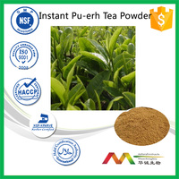ISO&GMP manufacture supply natural Pu-erh Tea extract, Instant Pu-erh Tea Powder