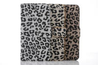 whloesale alibaba leopard pattern leather case with card slots for iphone 6s