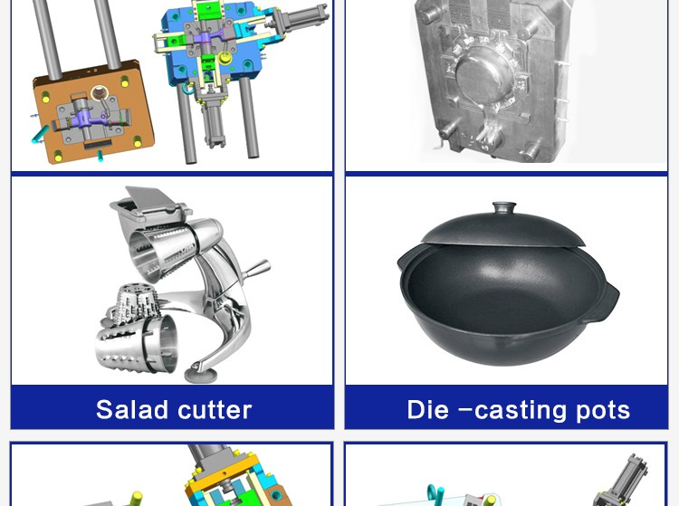 China supplier professional customised metal products aluminium die casting parts oem parts