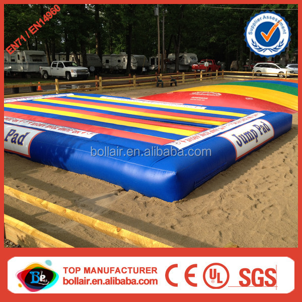 Wholesale price colorful cheap kids inflatable jump pad