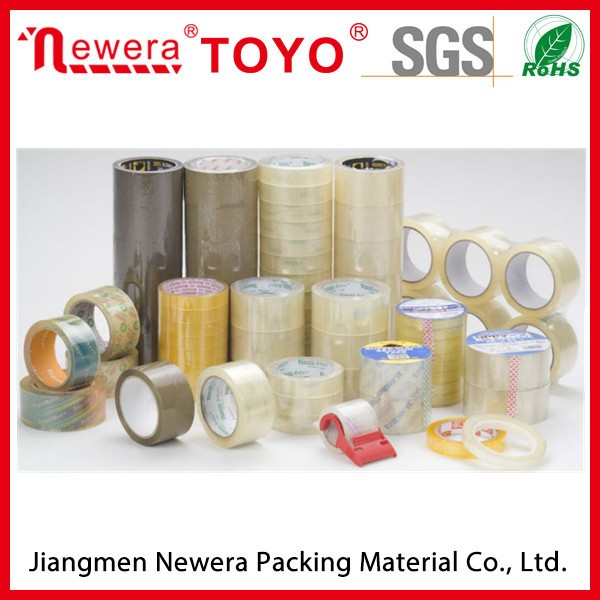 Water based adhesive custom printed Bopp packing tape