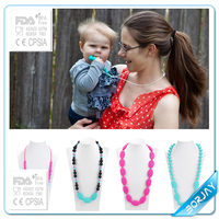 2015 new style baby silicone teething wholesale bijoux jewelry