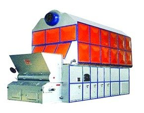 10MT Dual Cylinder Assembled Steam Boiler