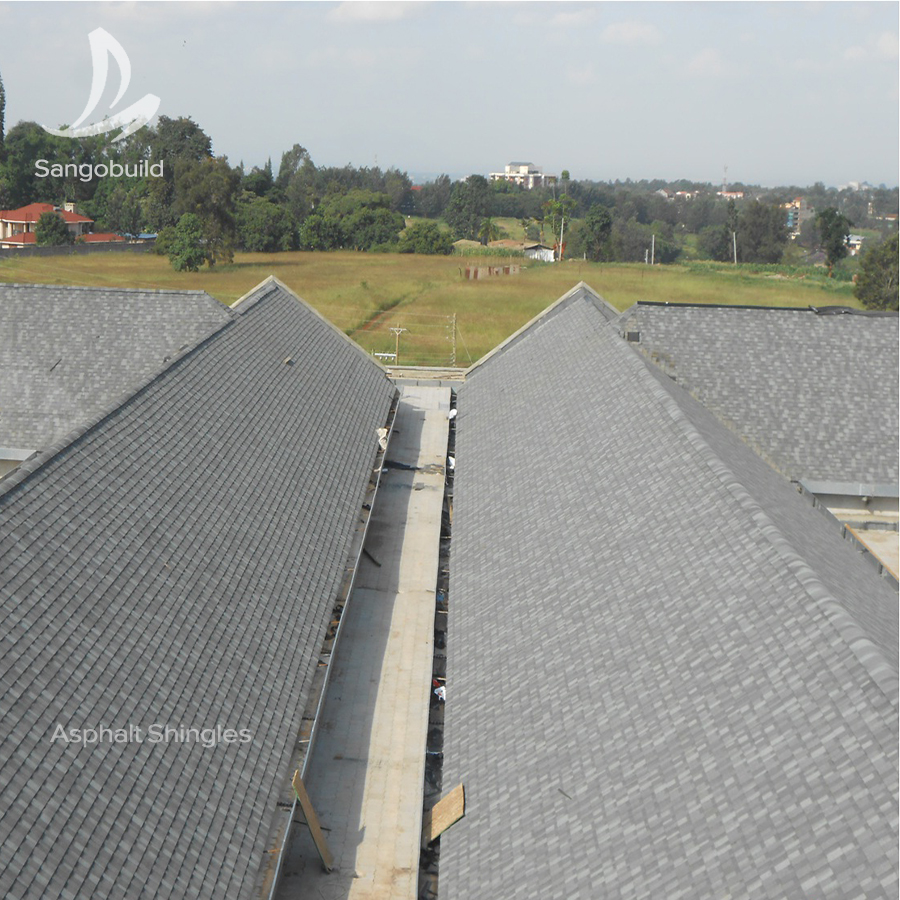 IKO standard Roofing Shingles Laminated Red Blue Black Asphalt Tiles Price Roof Tile From Factory Directly