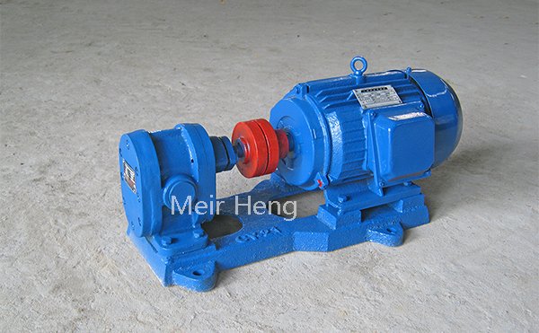 2CY diesel transfer pump gear oil lubrication pump positive displacement pump