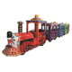 Children games amusement park riders outdoor electric train rides