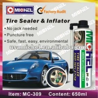 2014 hot sales 650ml Tyre Repair Sealent & Inflator