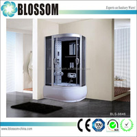 Comfortable enclosed steam shower room massage complete shower cabin