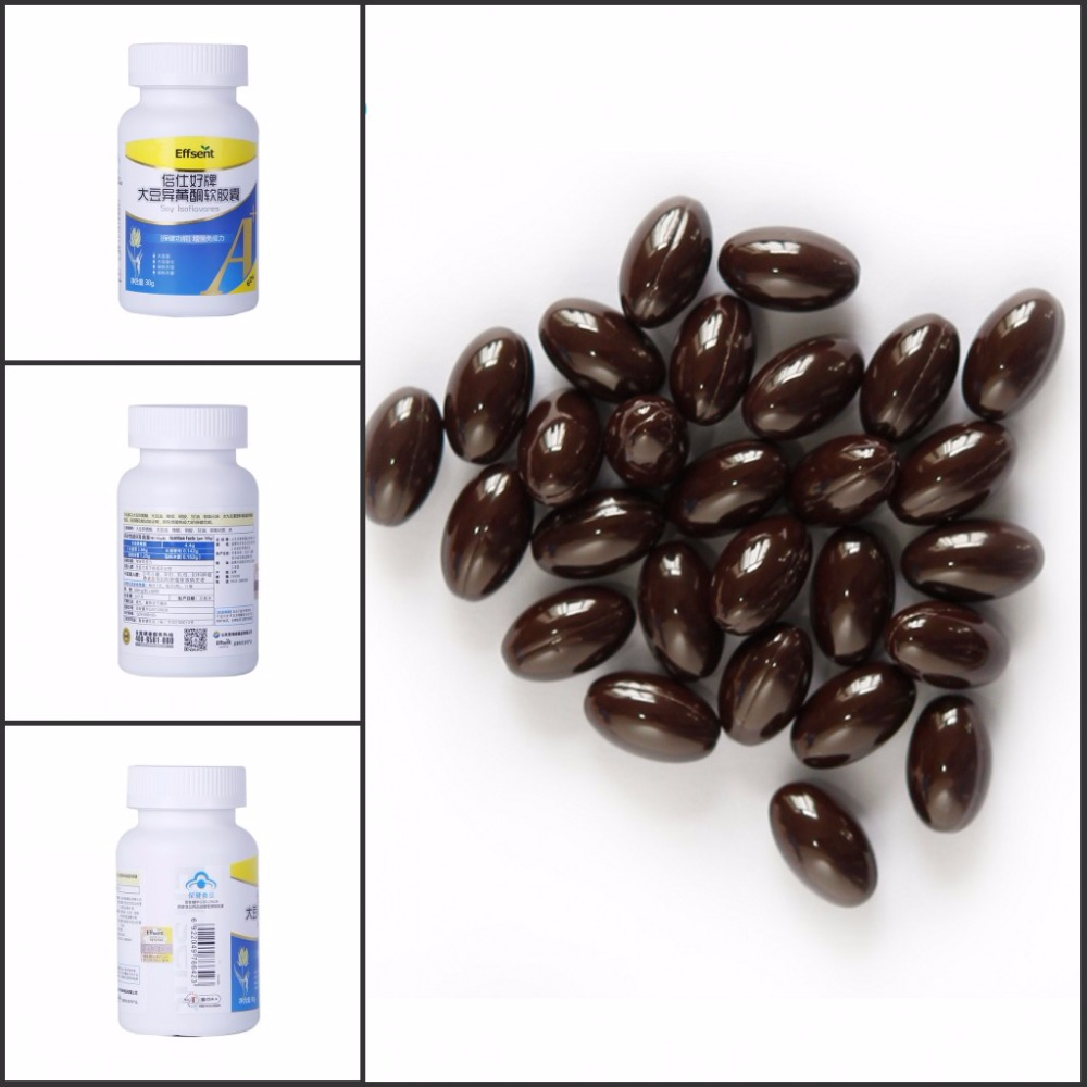 Prevention of Cardiovascular Disease Soya Isoflavones Softgel Capusule OEM Healthy Supplement