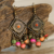National Wind Retro Fashion Women Bohemia Earrings