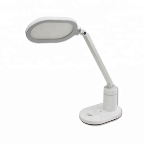 Free sample 12W Eye-protection desk lamp light touch switch USB Led study reading table lamp
