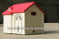 Customized HDPE plastic Rabbit Hutch Cat house Dog kennel Guinea Pig House
