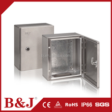 B&J China Manufacturer Stainless Steel Junction Box / Distribution Box / Connection Box