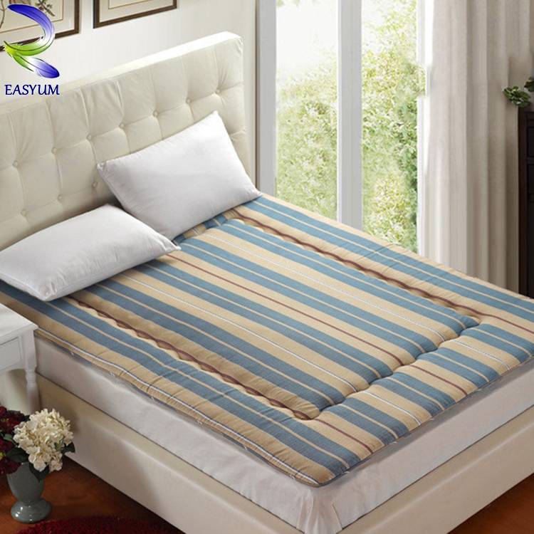 High quality plain sleeping duck jacquard mattress fabric