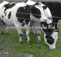 High tensile, heavy galvanised cattle field fence for sale (Anping factory)
