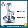 "brass angle valve 1/2""*3/4"" chromed plated male thread Alibaba china supplier online shopping"