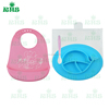 Spill Proof Stay Put Suction Bowls One Piece Baby Placemat FDA Approval Food Grade Silicone BPA Free