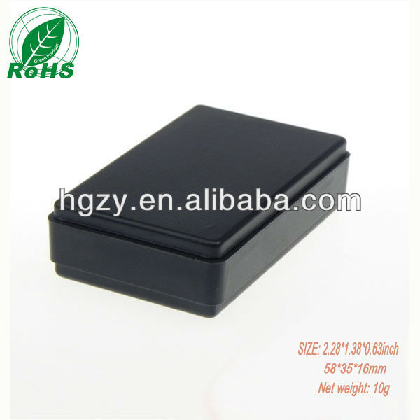 Wholesale black electric junction enclosure hard plastic cases for electronic