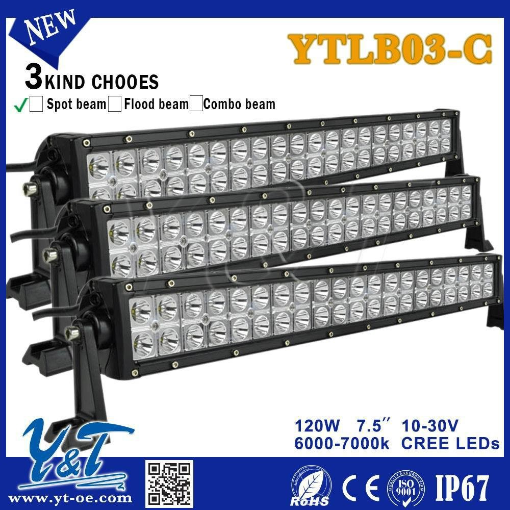 Y&TNew style LED Emergency Warning Use 2 rowing led light bars lifetime