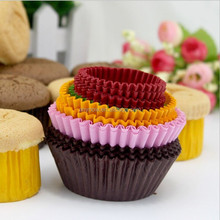 Translucent oil proof colorful cake paper cup muffin cup baking cup mould