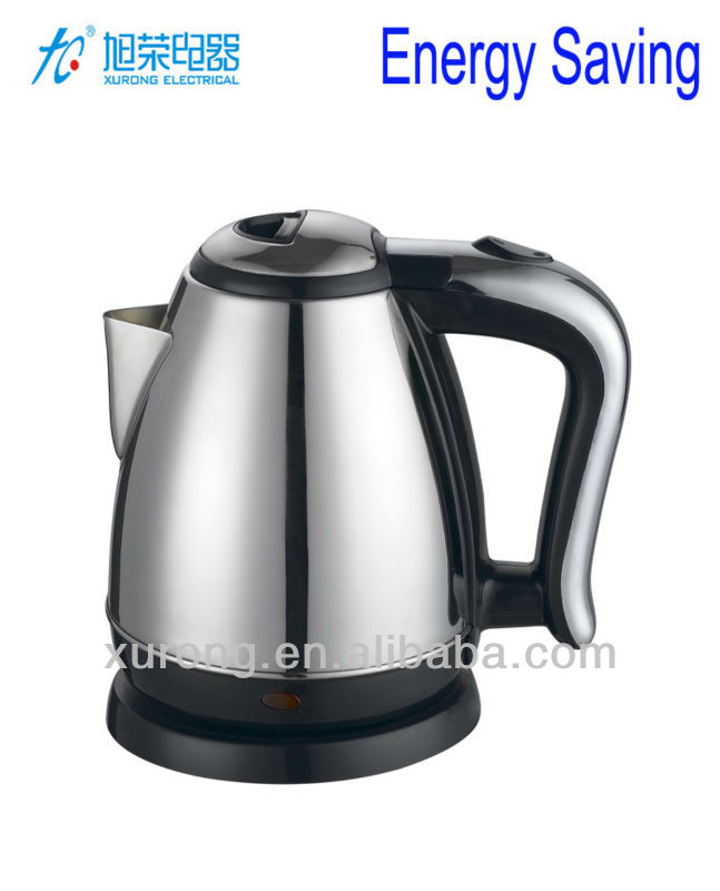 Gloss Metal Energy Efficient Electric Kettle-1.5L/1.8L Model No.: XR/H16