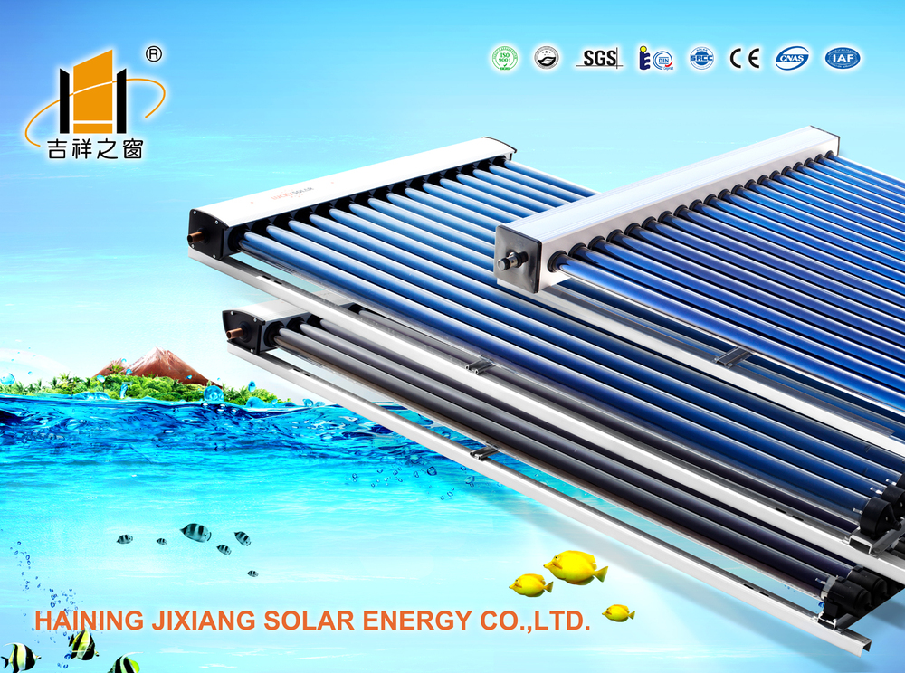 Split High Pressure bearing Solar Water heater,heat pipe 24mm solar collector,working models solar water heater