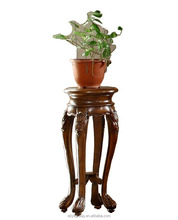 8007-11-Solid wood furniture in Portugal flower stand designs end table small living room furniture
