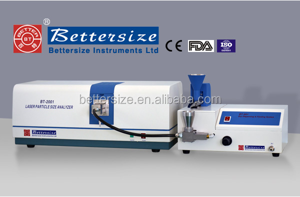 Top Sale CE FDA ISO Dry Mode Compressed Air Dispersion Particle Size Analyser