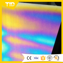 Popular high flexibility rainbow prism light heat transfer paper for cool sports clothes