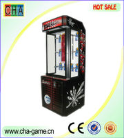 mini stacker lottery game machine for children