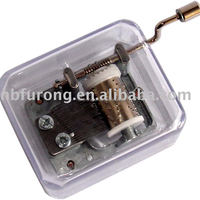 Hand Crank Music Box For Promotion