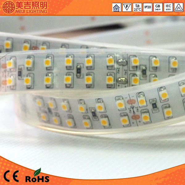 smd 3528 2 rows cristmas decoration ip65 waterproof outdoor led strip light