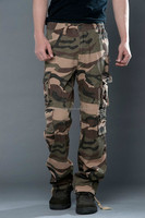 New design Fashion camouflage baseball pants long trousers
