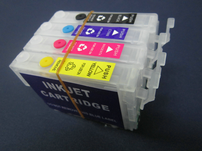 China factory! 4 colors Refill ink cartridge for epson xp-101 xp-201
