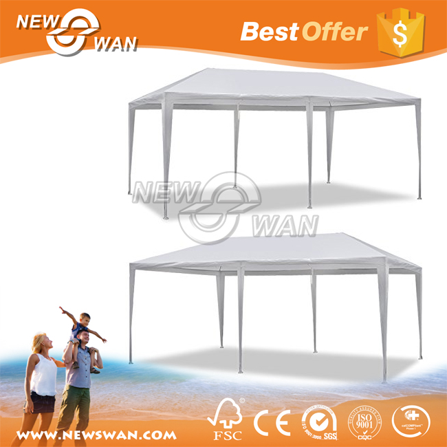 10 X 20ft White Party Tent Gazebo Canopy with Sidewalls